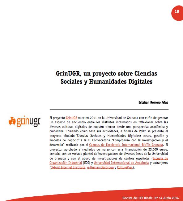 GrinUGR CEI BioTic español
