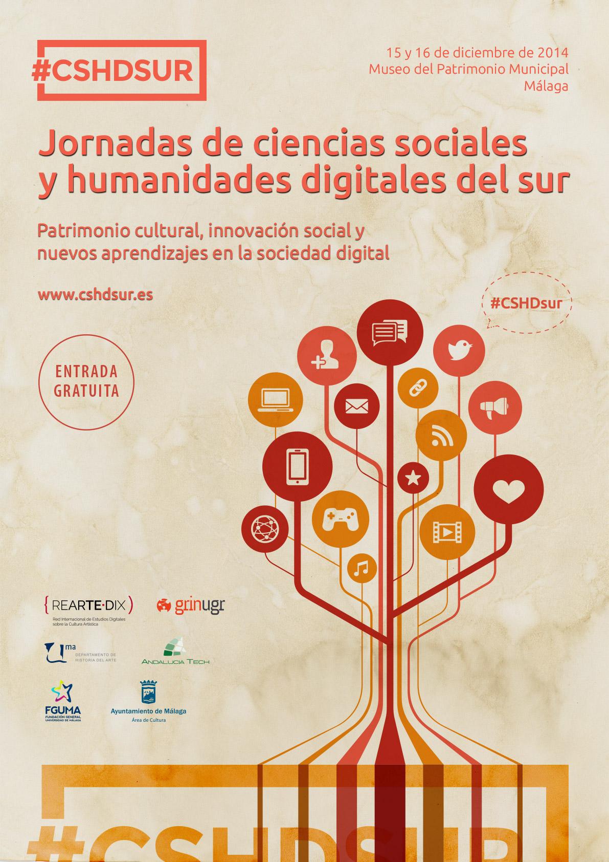 Cartel Jornadas CSHDsur
