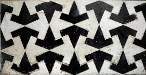 Detalles geométricos de la Alhambra. Foto por Robven.