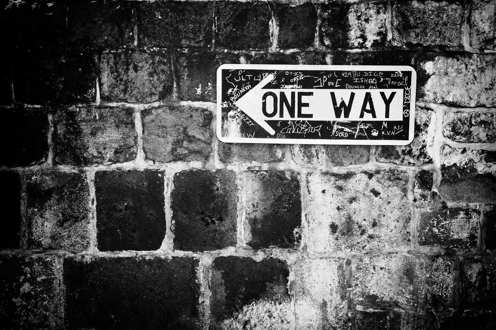 Howard Ignatius. One Way To Nowhere. CC 2.0 by-nc-sa https://flic.kr/p/iQVacm