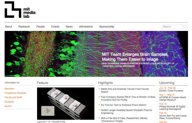 Laboratory of Social Machines es parte de MIT Media Lab